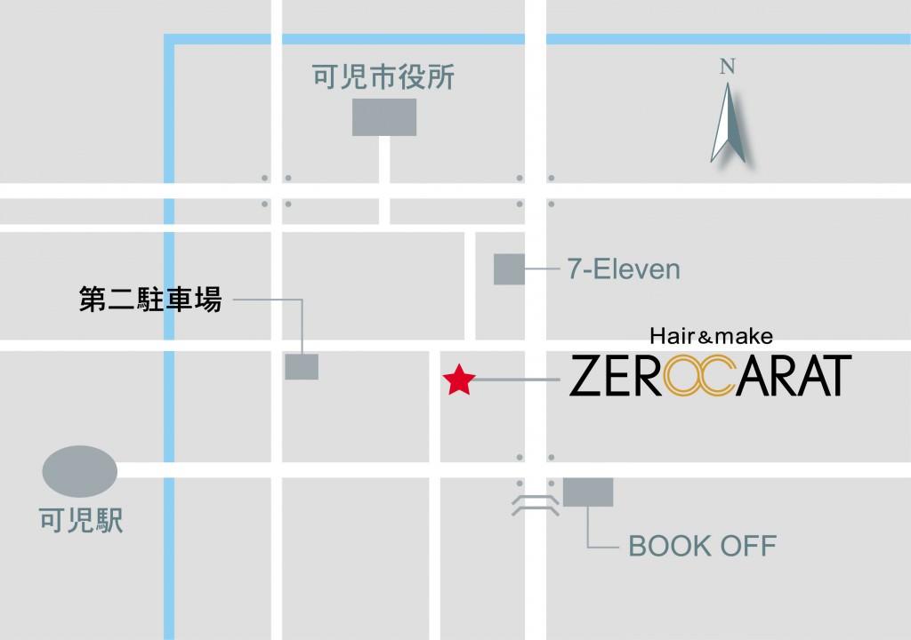 zerocarat 地図